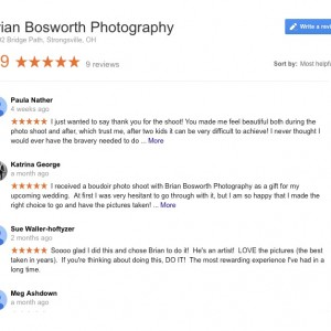 See what my clients are saying in my Google Business Reviews!!